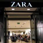 Zara ingang
